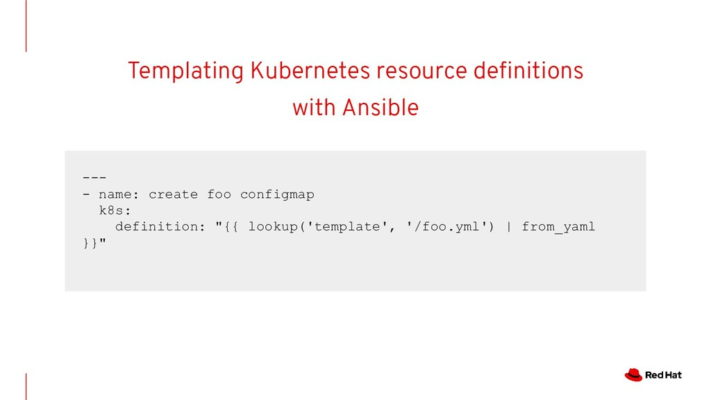 Templating Kubernetes resource definitions with ...