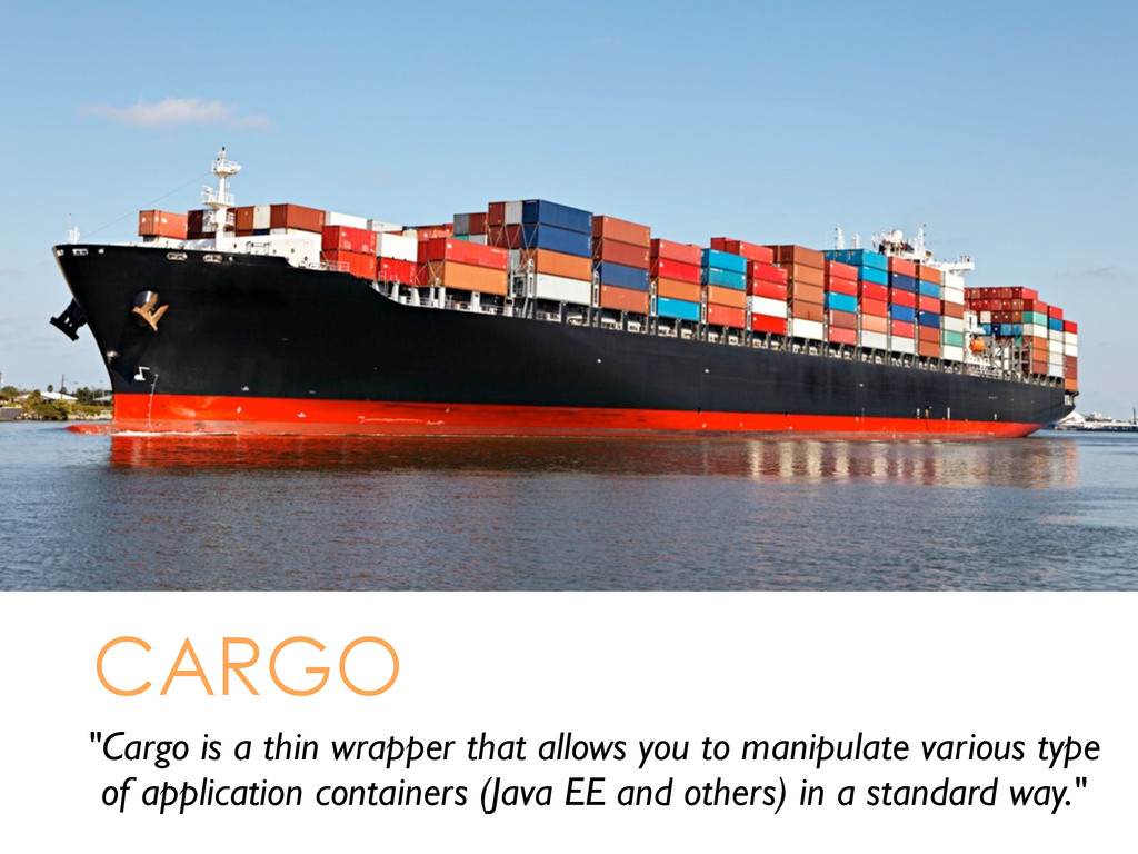 """Cargo is a thin wrapper that allows you to man..."