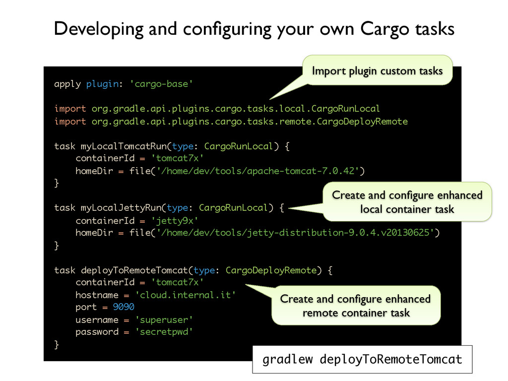 apply plugin: 'cargo-base' import org.gradle.ap...