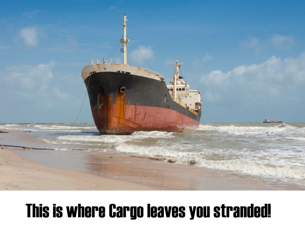 This is where Cargo leaves you stranded!