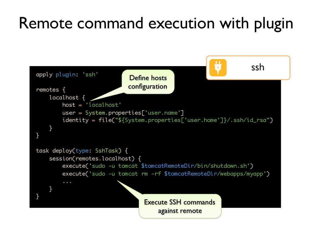 Remote command execution with plugin apply plug...