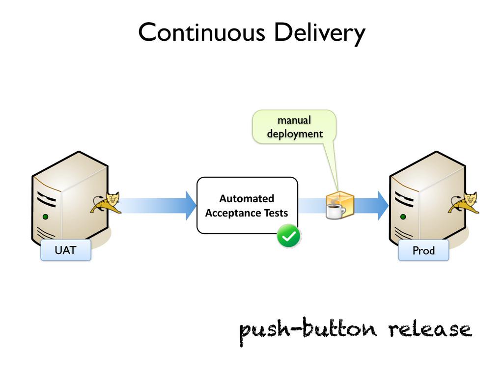 Prod Continuous Delivery UAT Automated Acceptan...