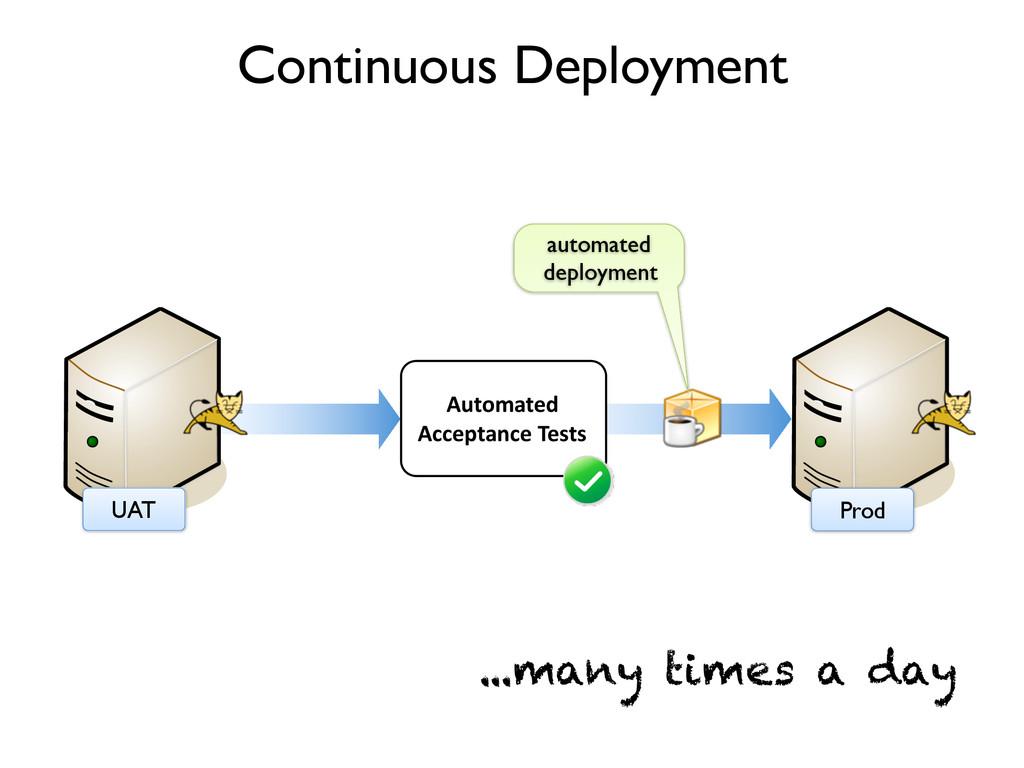 Prod Continuous Deployment UAT Automated Accept...