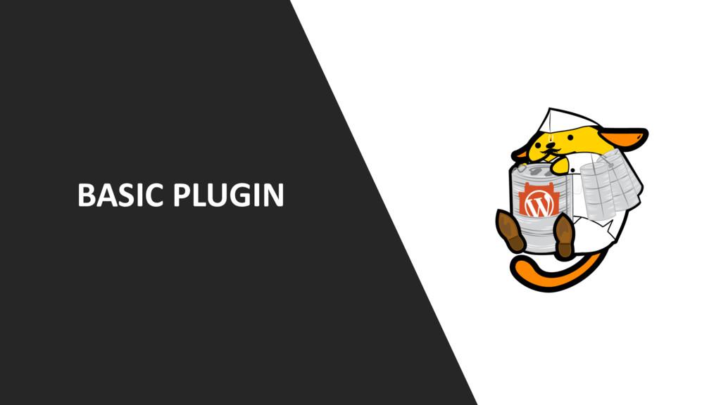 BASIC PLUGIN
