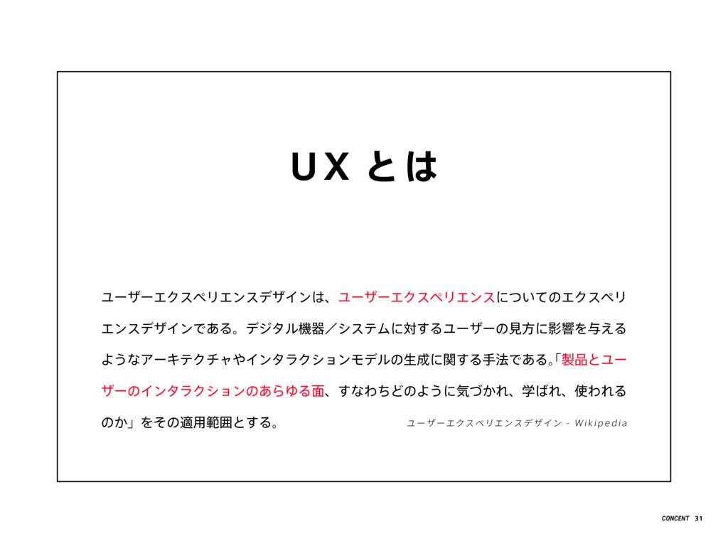 UX とは ユーザーエクスペリエンスデザインは、ユーザーエクスペリエンスについてのエクスペリ ...