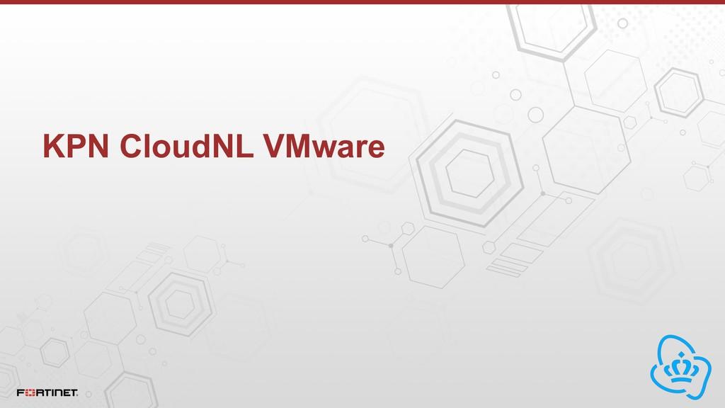 KPN CloudNL VMware