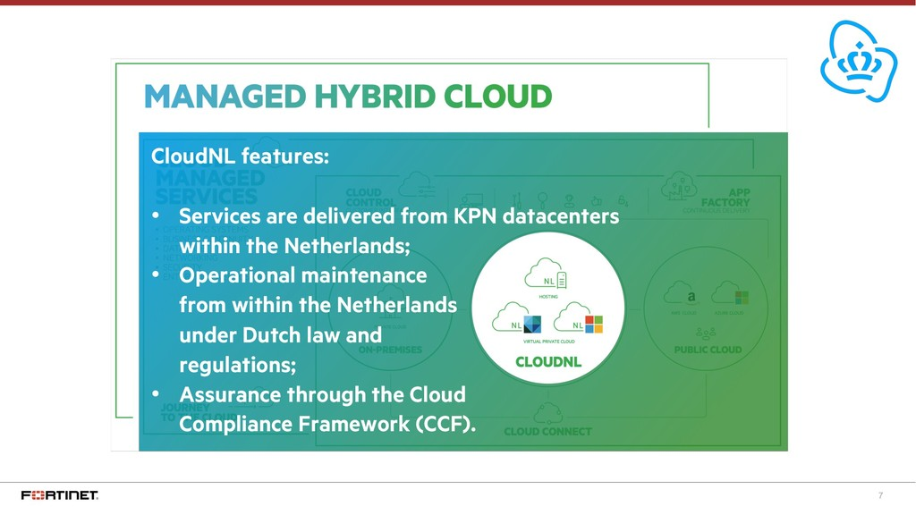 7 CloudNL features: • Services are delivered fr...