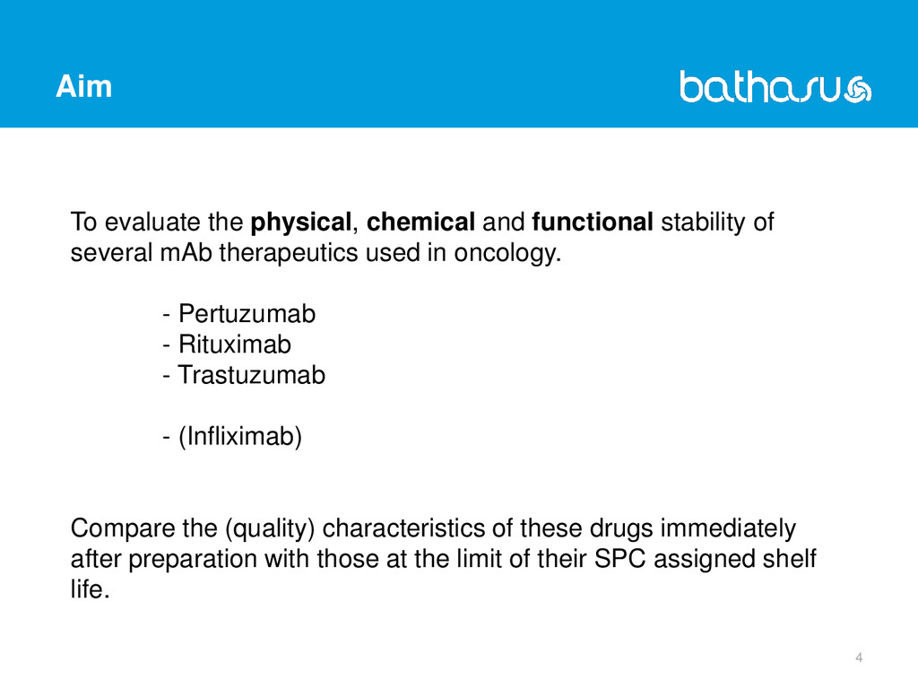 Aim 4 To evaluate the physical, chemical and fu...