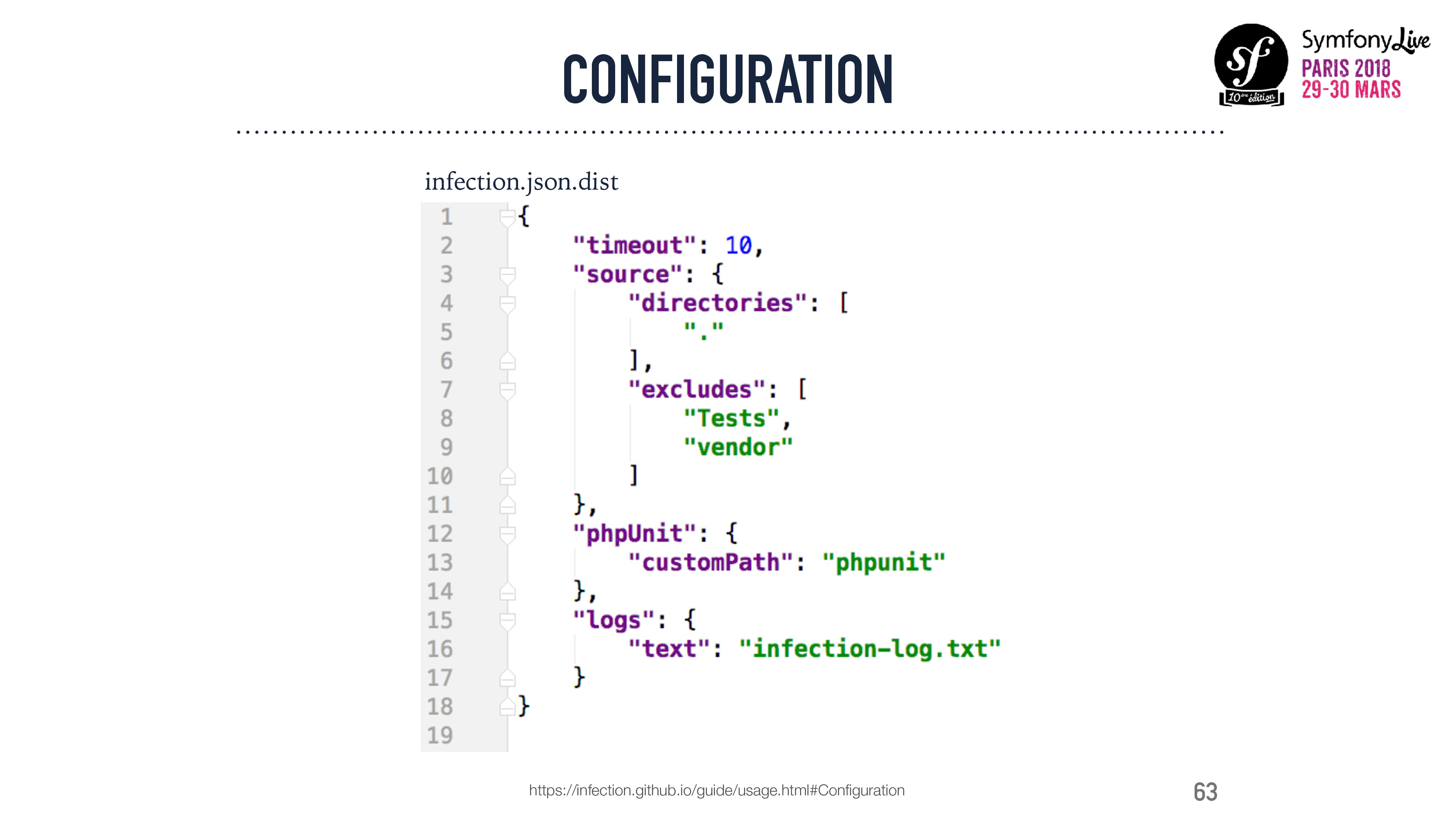 63 CONFIGURATION infection.json.dist https://in...