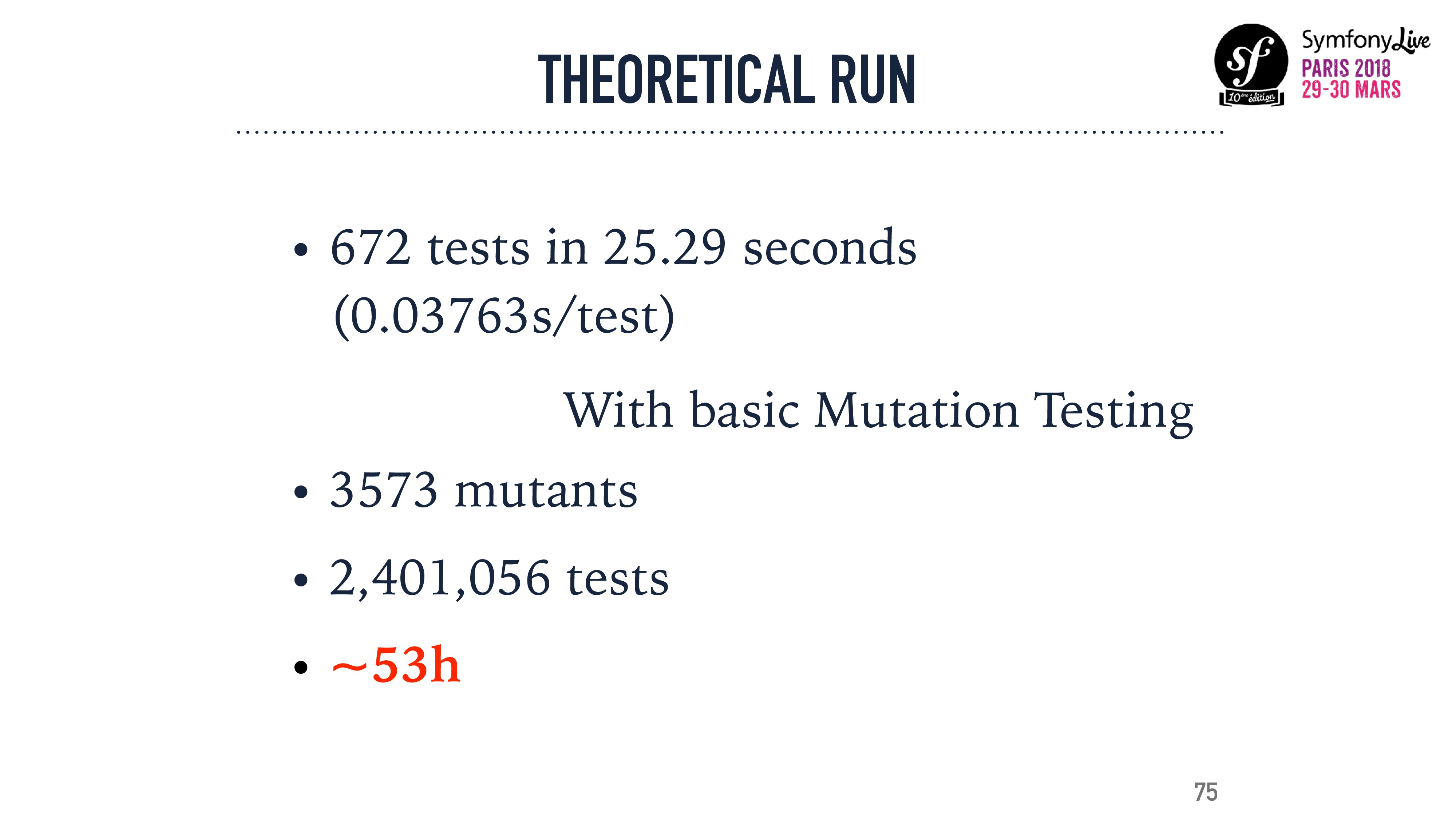 THEORETICAL RUN • 672 tests in 25.29 seconds  ...