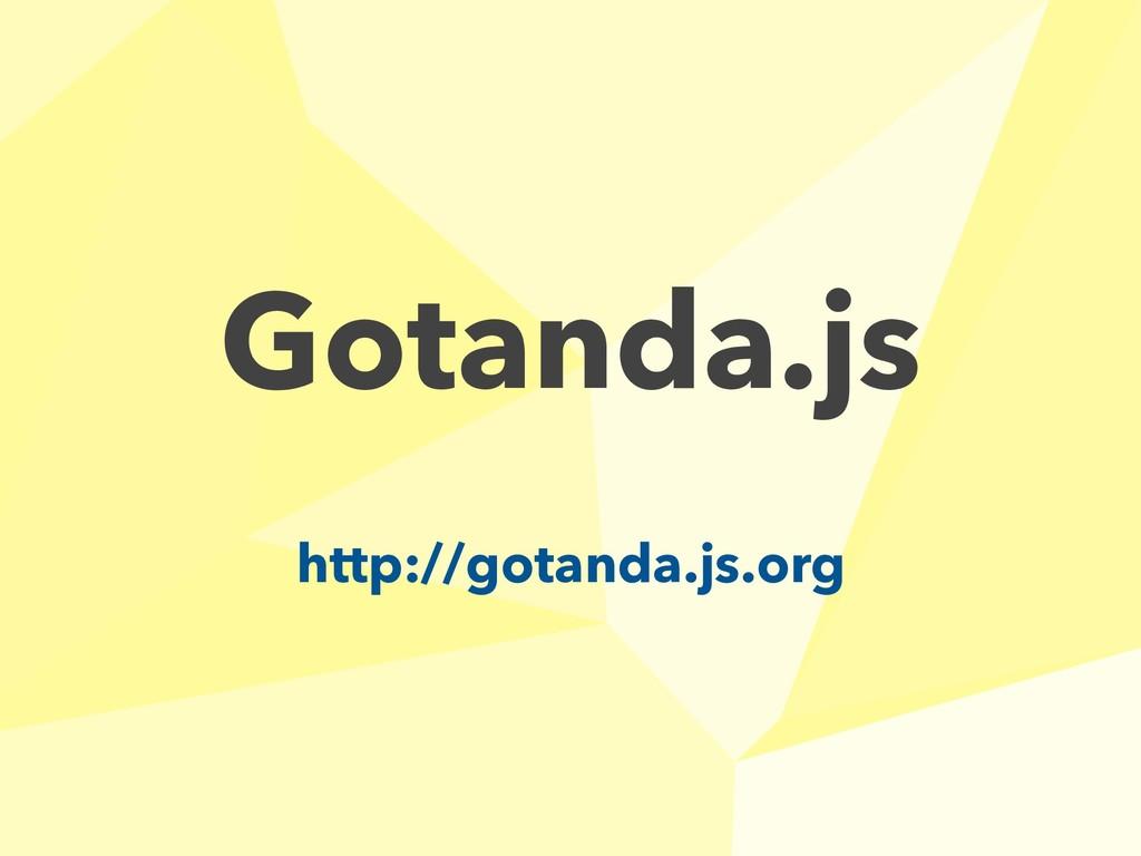 Gotanda.js http://gotanda.js.org