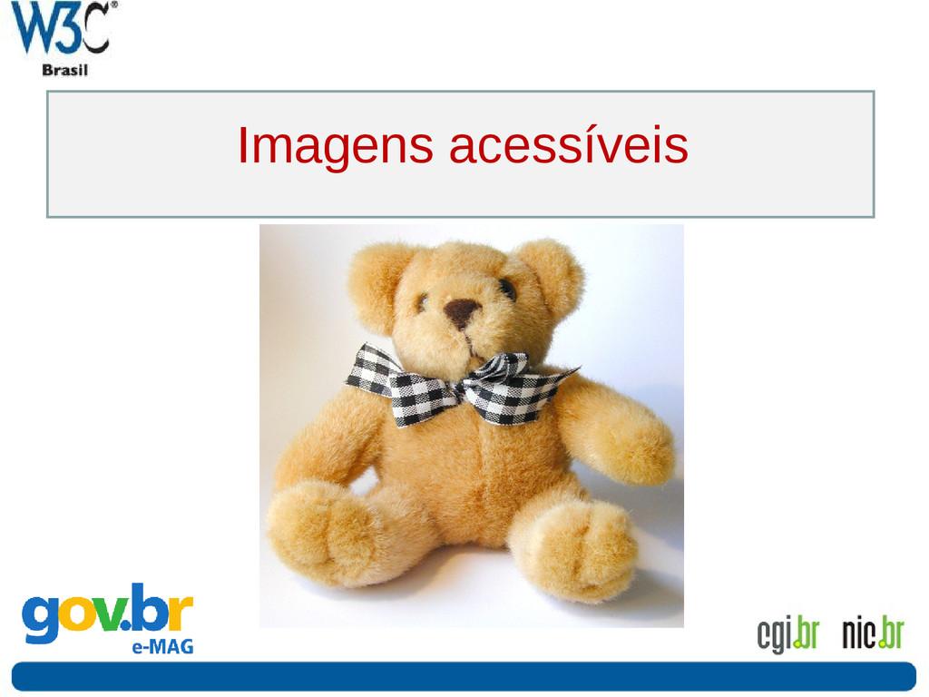 Imagens acessíveis