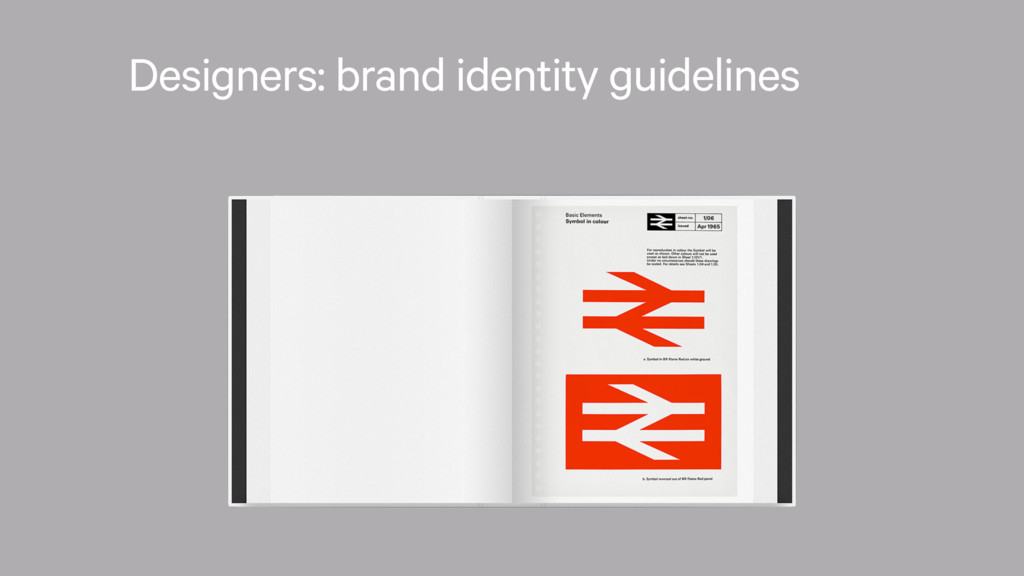 Designers: brand identity guidelines
