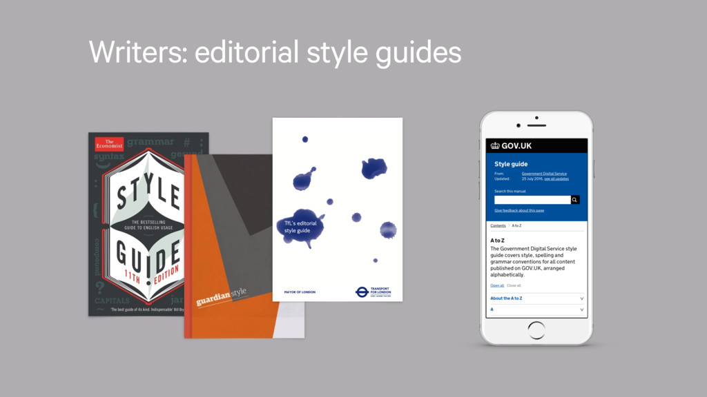 Writers: editorial style guides