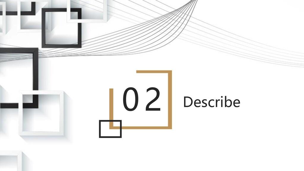02 Describe