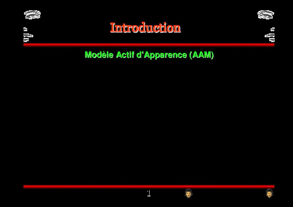 Mod Modè èle Actif d'Apparence (AAM) le Actif d...
