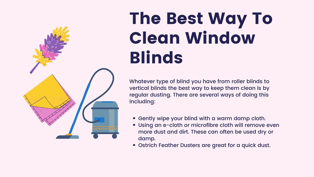 The Best Way To Clean Window Blinds Whatever ty...