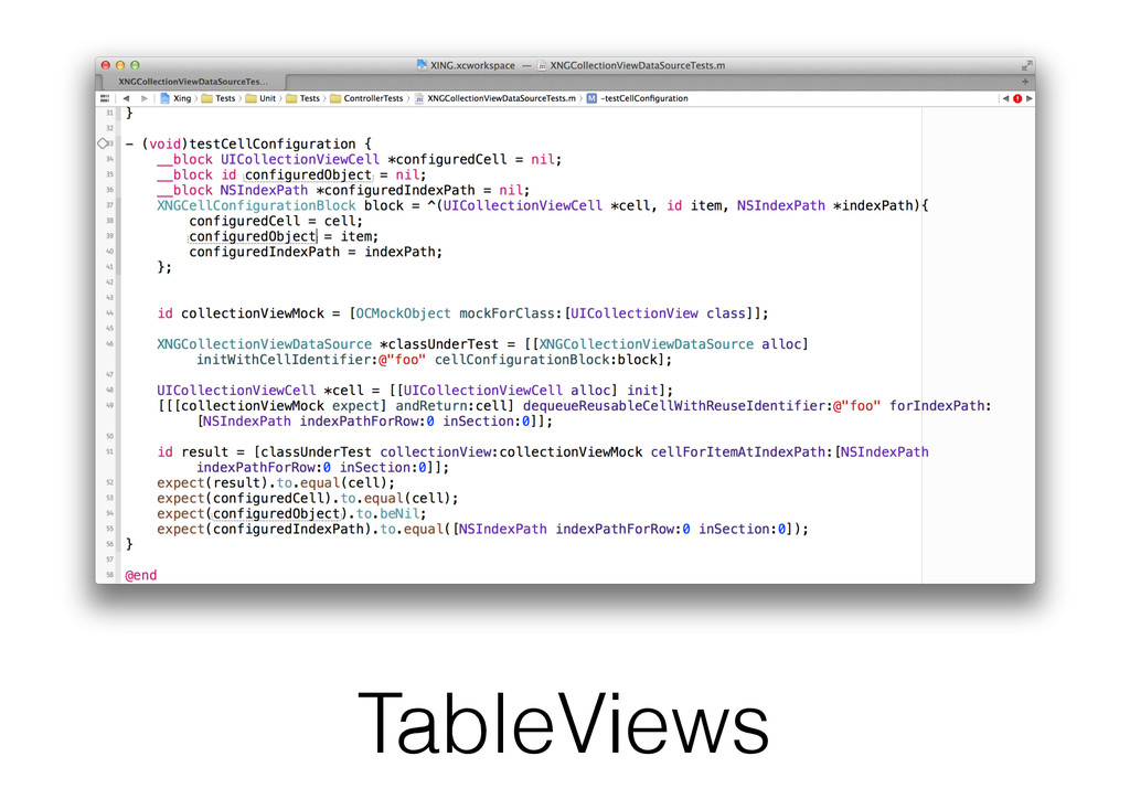 TableViews