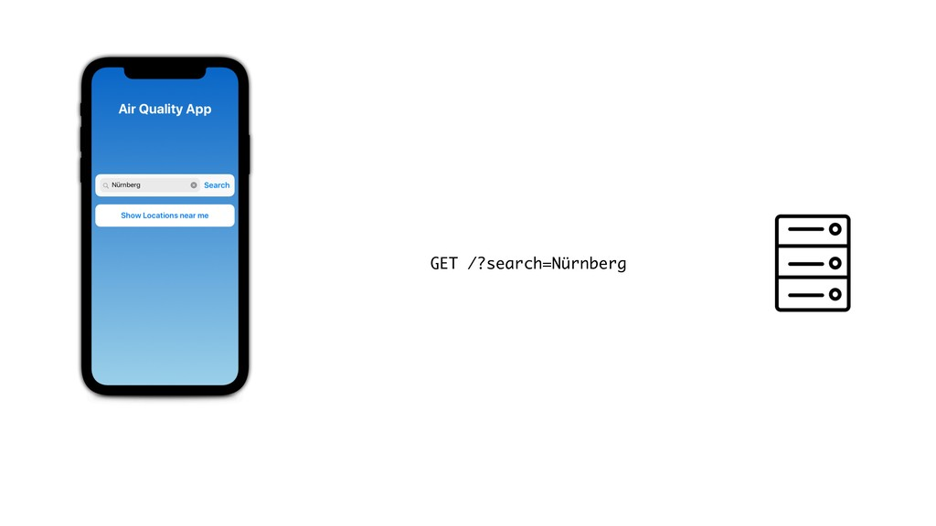 GET /?search=Nürnberg