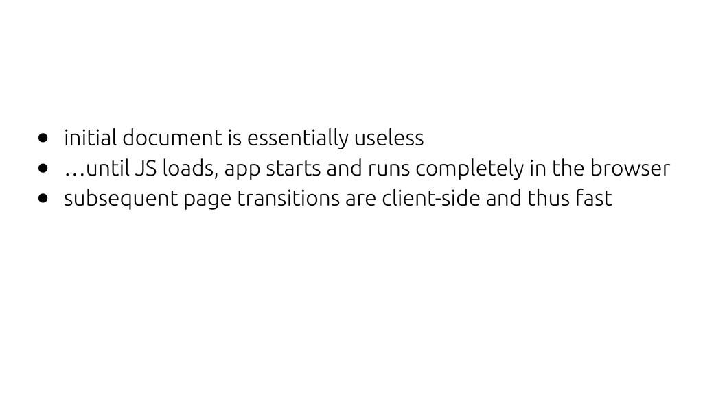 • initial document is essentially useless • …un...