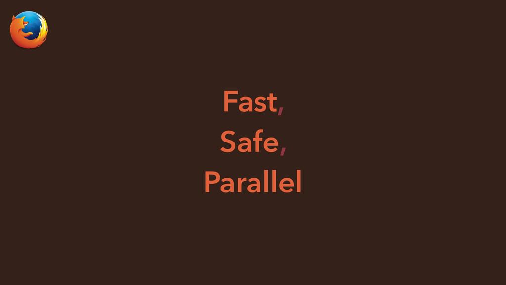 Fast, Safe, Parallel