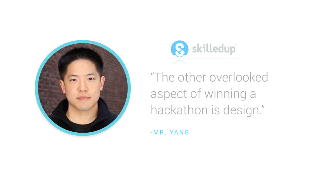 """""""The other overlooked aspect of winning a hacka..."""