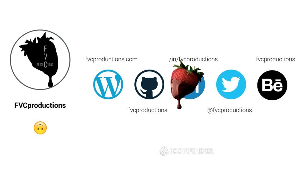 FVCproductions  fvcproductions /in/fvcproductio...