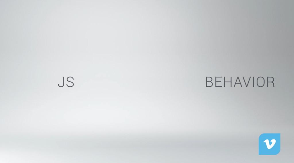 Layers of Web Design JS BEHAVIOR