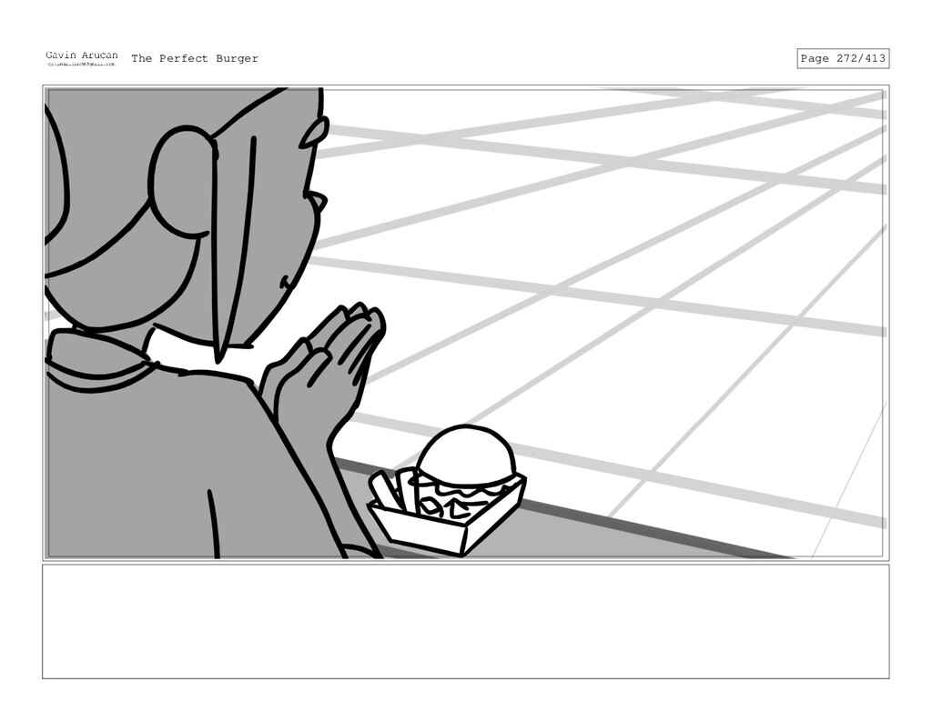 Dialog SFX: click The Perfect Burger Page 272/3...