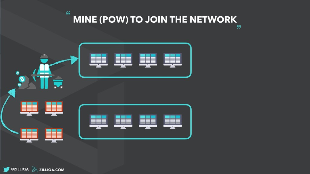 """ MINE (POW) TO JOIN THE NETWORK ZILLIQA.COM @Z..."