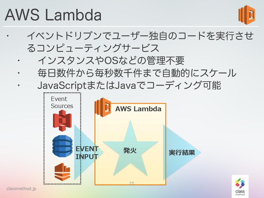 classmethod.jp w ΠϕϯτυϦϒϯͰϢʔβʔಠࣗͷίʔυΛ࣮ߦͤ͞ Δίϯϐϡ...