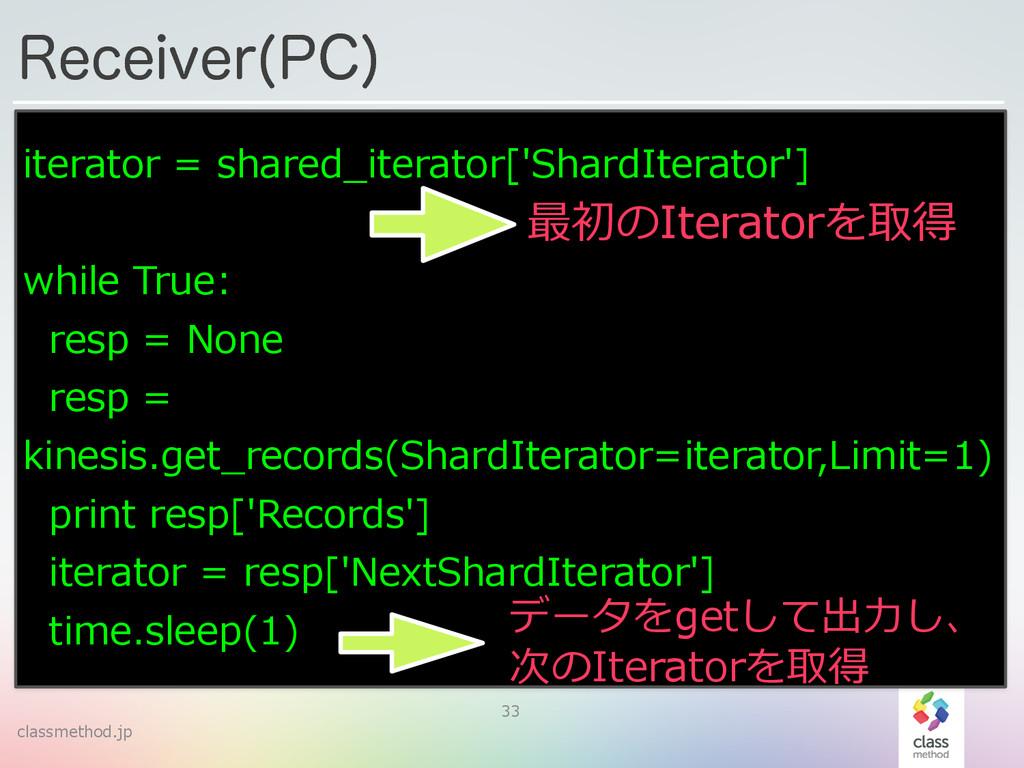 classmethod.jp 3FDFJWFS 1$  33 iterator = sha...