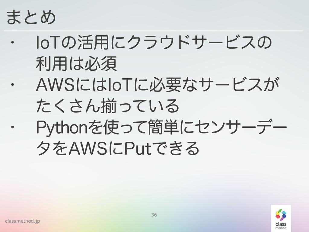 "classmethod.jp 36 w *P5ͷ׆༻ʹΫϥυαʔϏεͷ ར༻ඞਢ w ""..."