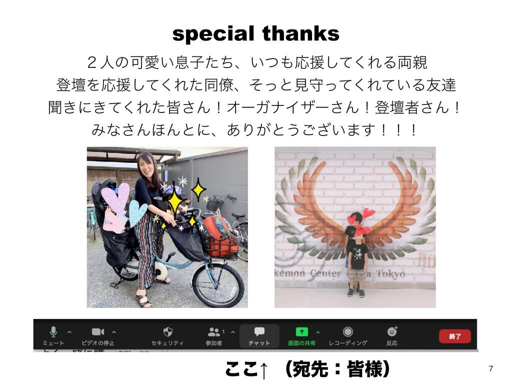 special thanks ̎ਓͷՄѪ͍ଉࢠͨͪɺ͍ͭԠԉͯ͘͠ΕΔ྆ ొஃΛԠԉͯ͘͠...