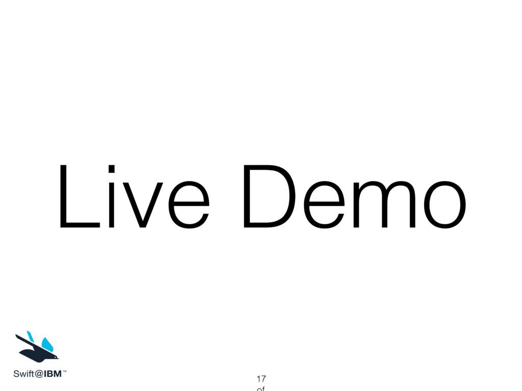 Live Demo 17
