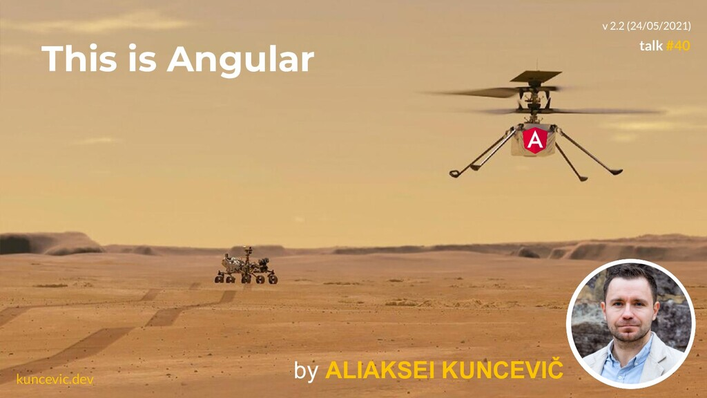 kuncevic.dev This is Angular by ALIAKSEI KUNCEV...