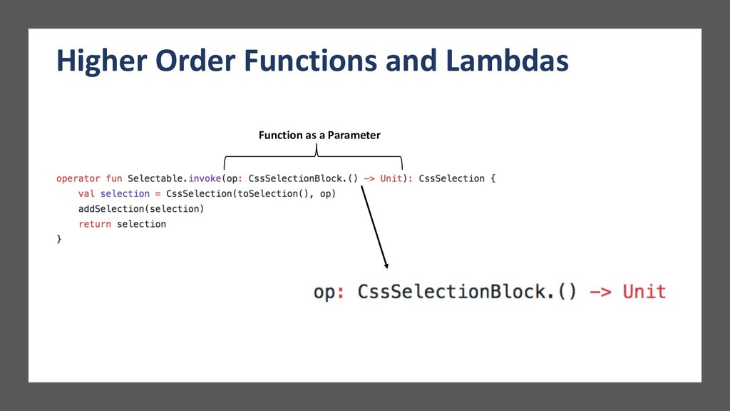 Higher Order Functions and Lambdas Function as ...