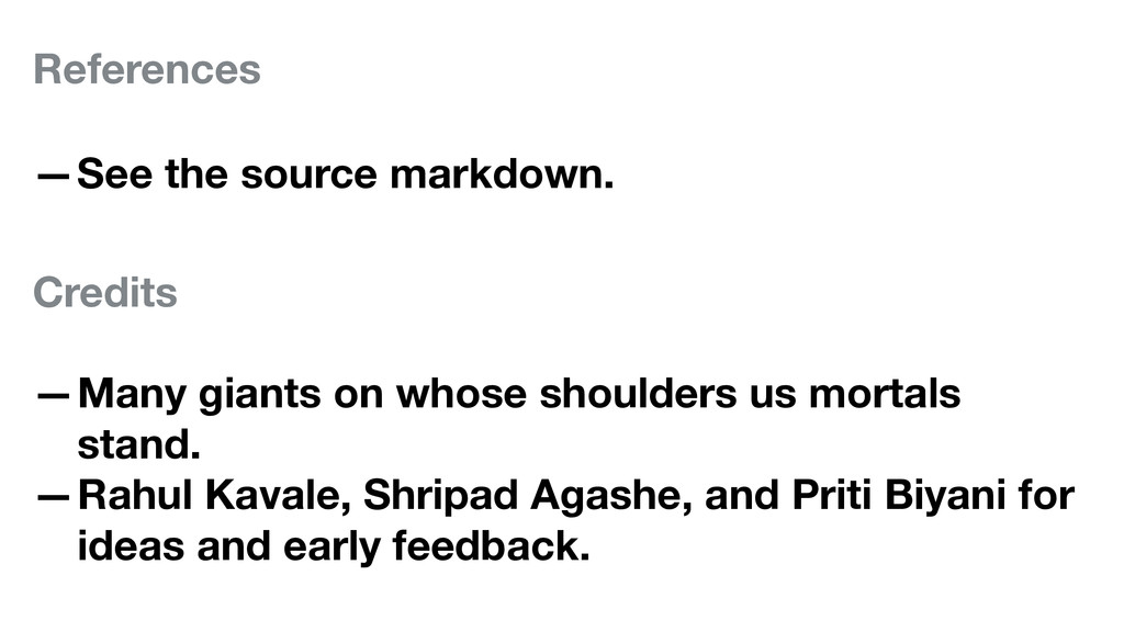 References —See the source markdown. Credits —M...