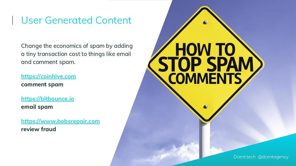 Change the economics of spam by adding a tiny t...