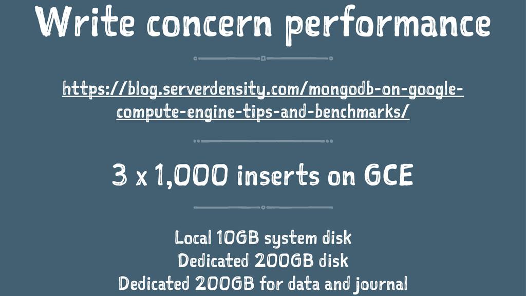 Write concern performance https://blog.serverde...