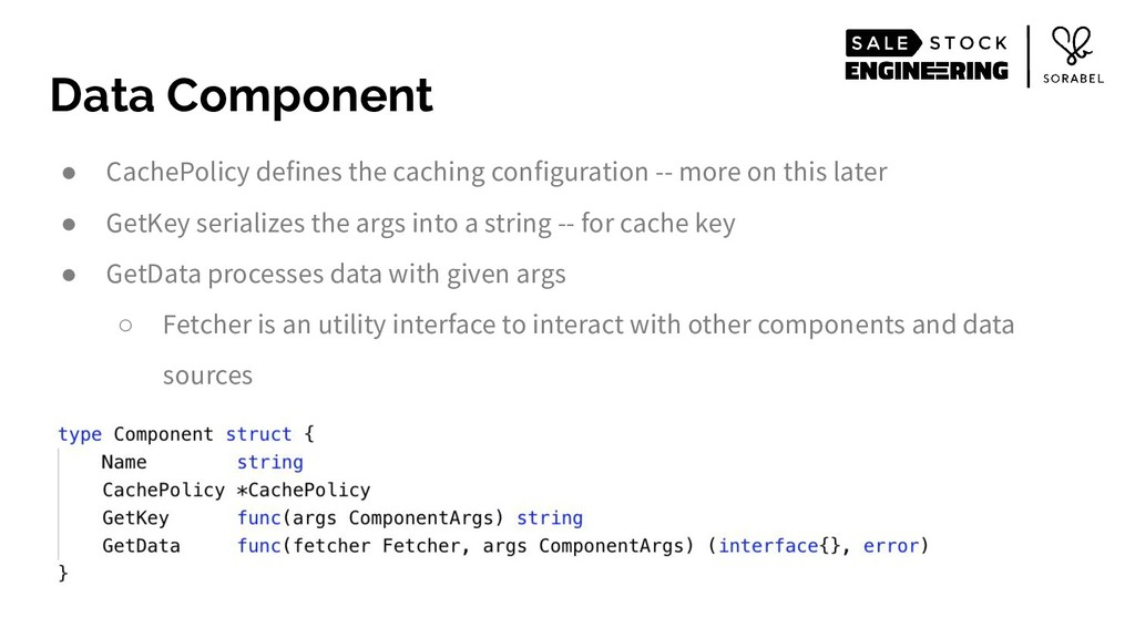 Data Component ● CachePolicy defines the cachin...