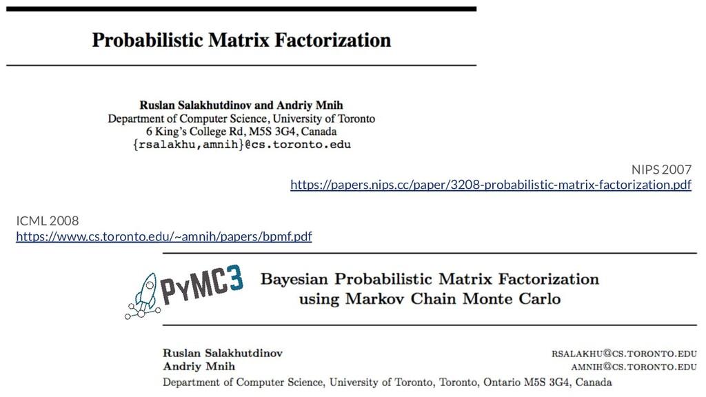 ICML 2008 https://www.cs.toronto.edu/~amnih/pap...