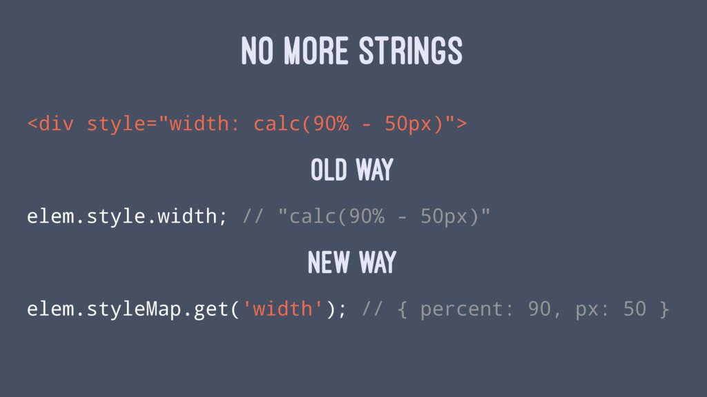 """NO MORE STRINGS <div style=""""width: calc(90% - 5..."""