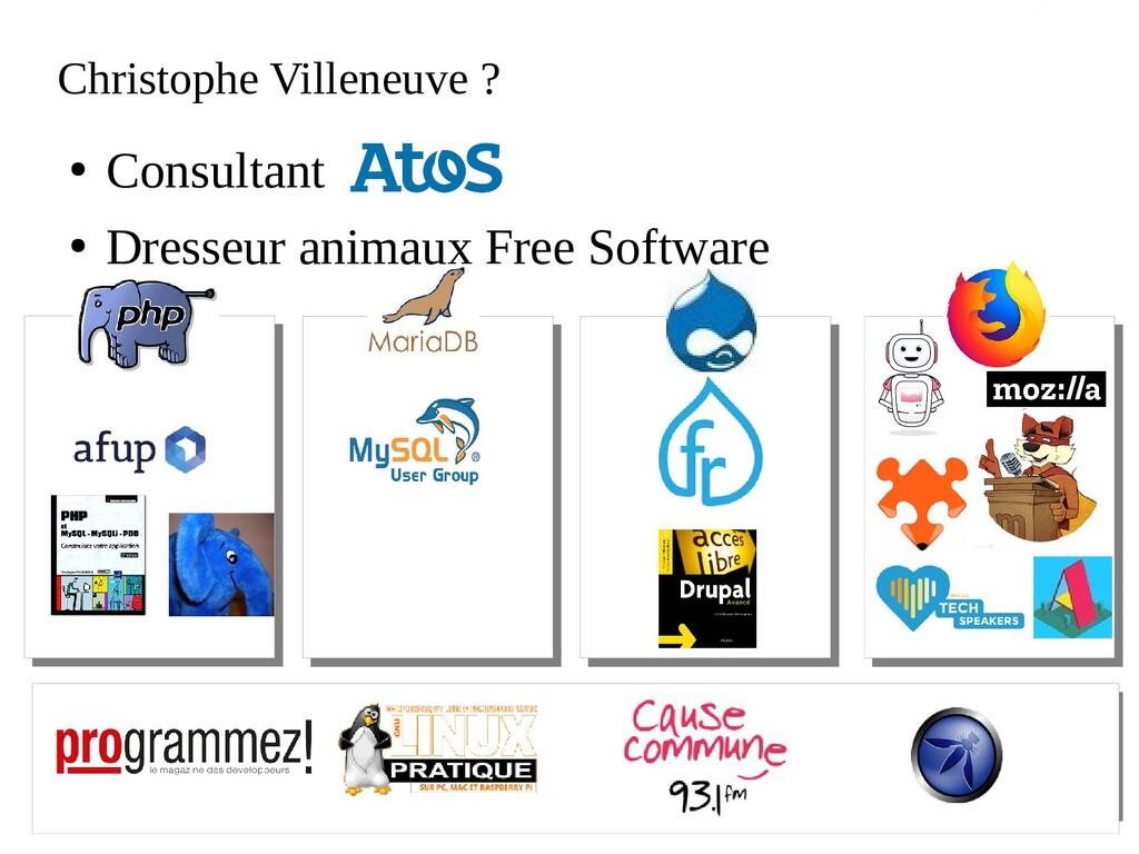 Atos open source - afup – lemug.fr – mariadb – ...