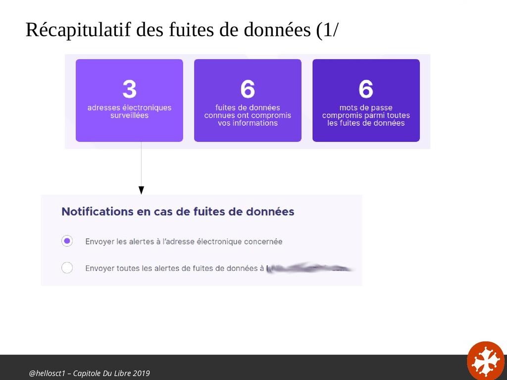 @hellosct1 – Capitole Du Libre 2019 Récapitulat...