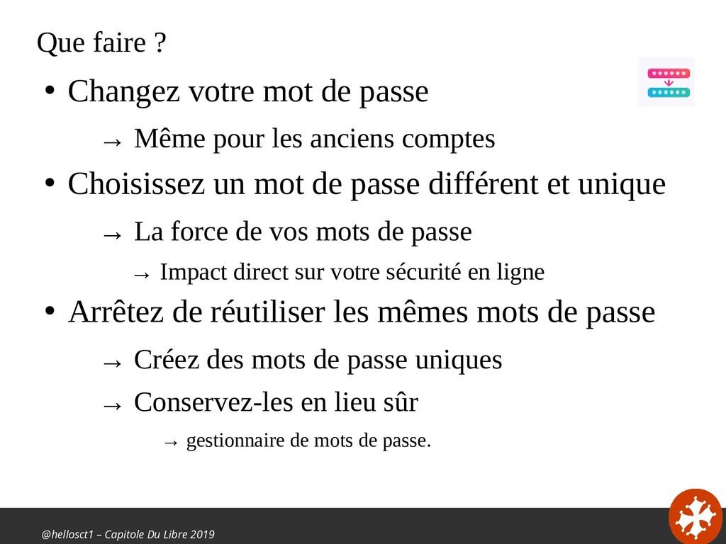 @hellosct1 – Capitole Du Libre 2019 Que faire ?...