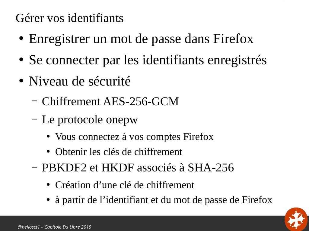 @hellosct1 – Capitole Du Libre 2019 Gérer vos i...