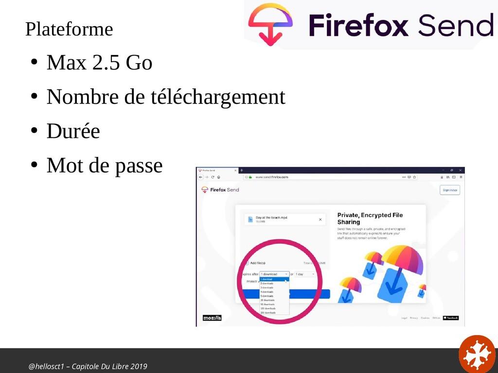 @hellosct1 – Capitole Du Libre 2019 Plateforme ...