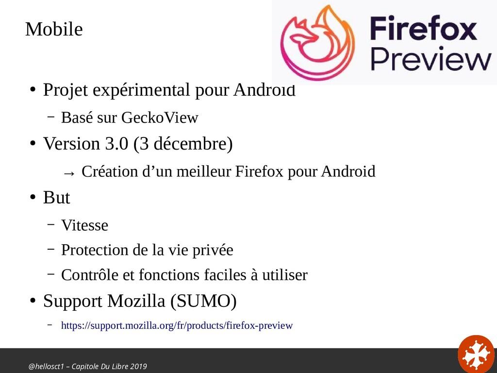 @hellosct1 – Capitole Du Libre 2019 Mobile ● Pr...