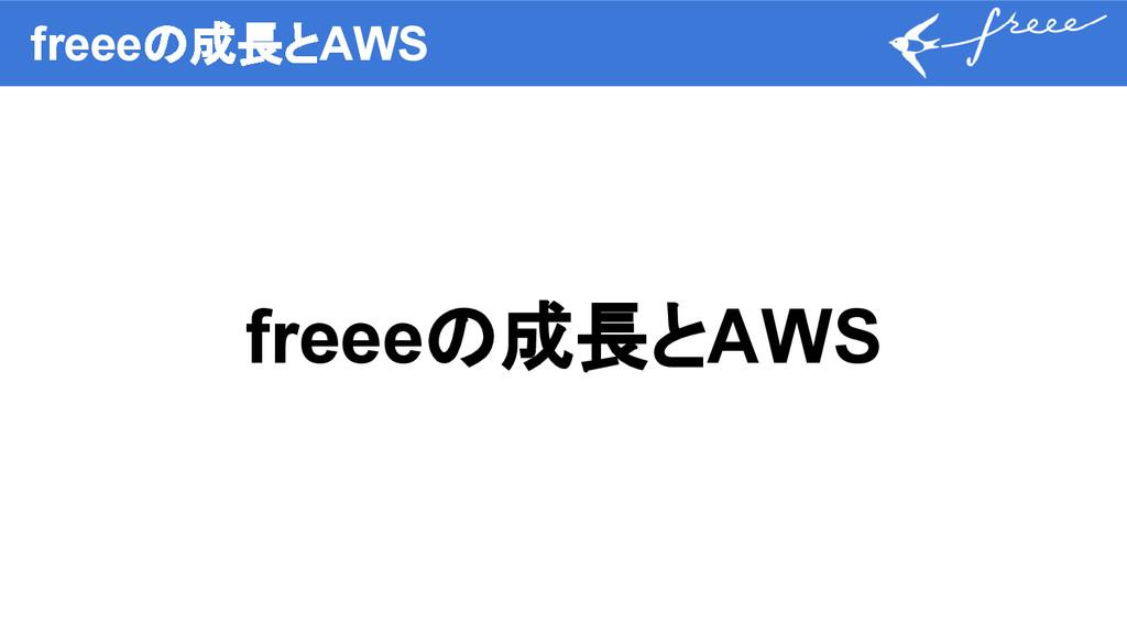 freeeの成長とAWS freeeの成長とAWS